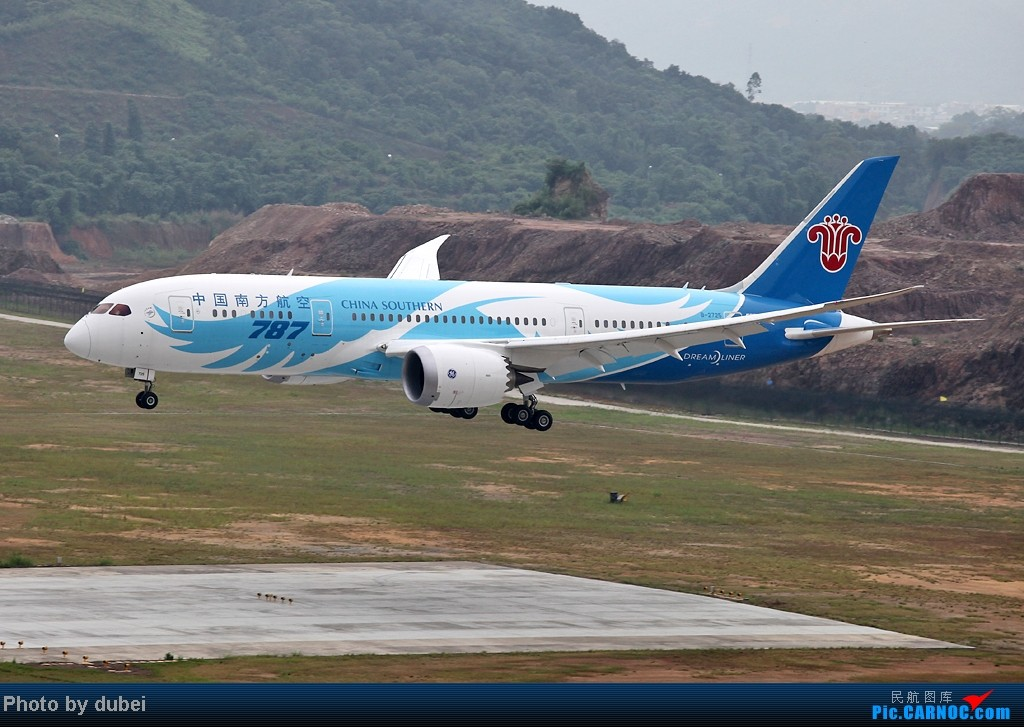 [原创][与梦想一起飞行]与潮汕飞友一起追求787 BOEING 787 B-2725 中国揭阳潮汕机场