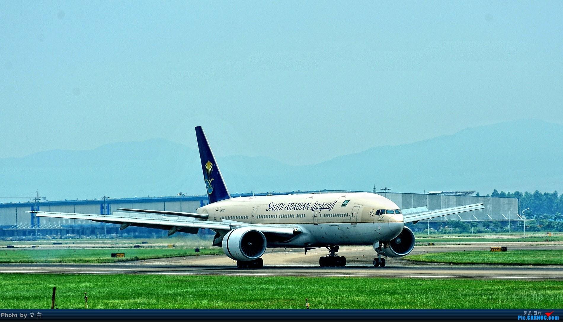 [原创]大飞机感觉就是不一样 BOEING 777  白云机场