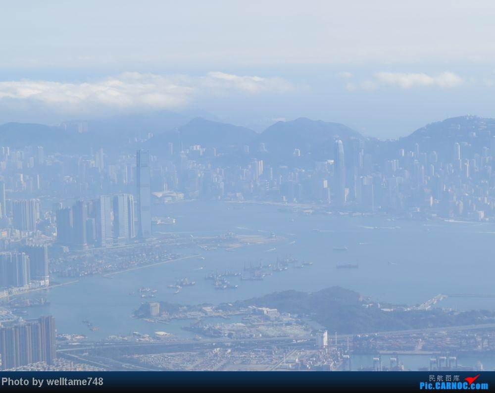 好天航拍香港,机场暴走拍机~好货连连~ airbus a330-300 b-hln 泰国曼