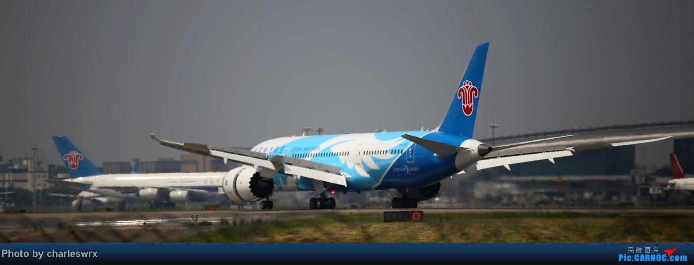 Re:[原创]【迟到的照片】迎接南航787以及隔一天的煤堆土堆烂天小拍 BOEING 787 B-2725 中国广州白云机场