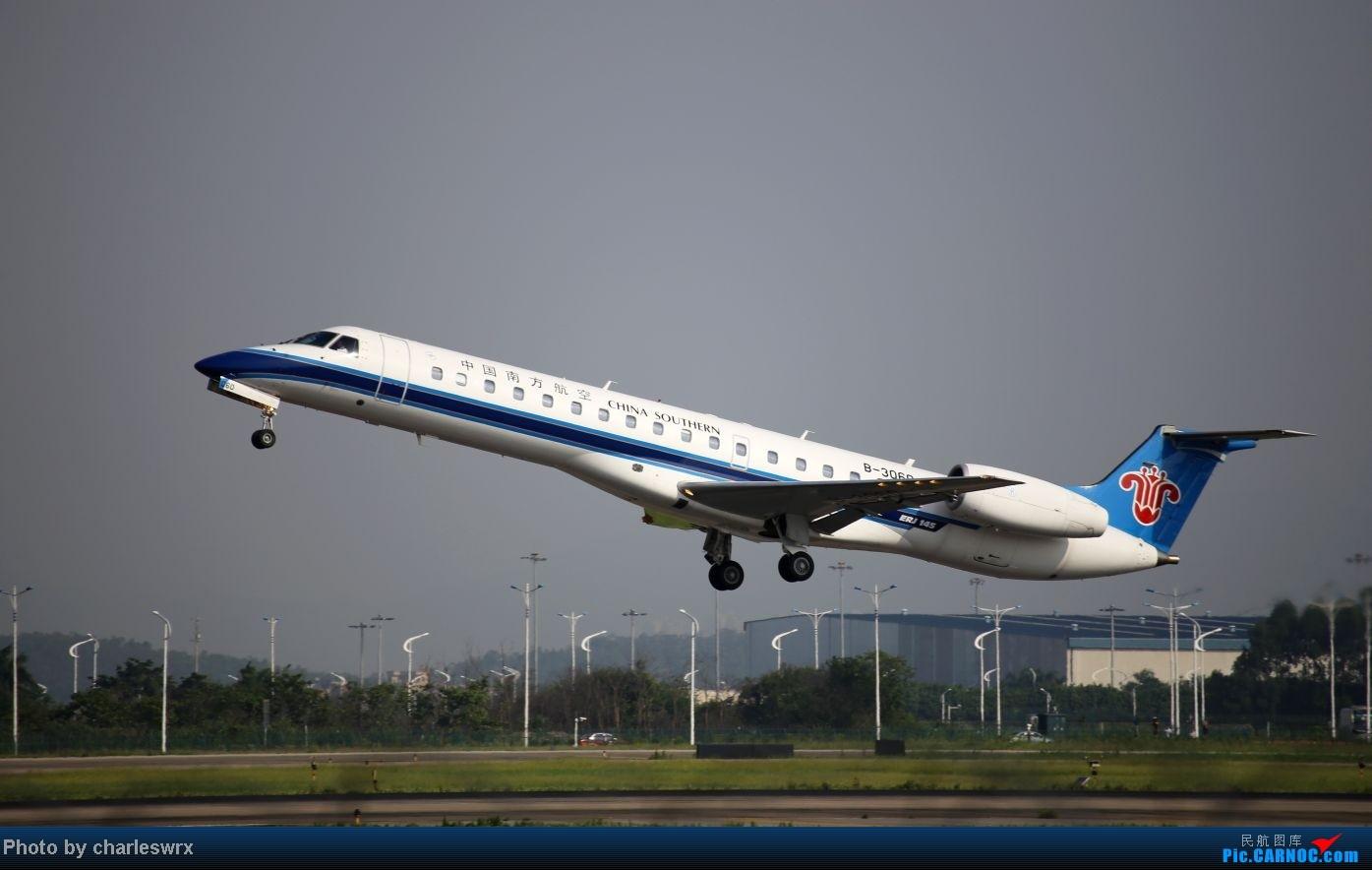 Re:[原创]【迟到的照片】迎接南航787以及隔一天的煤堆土堆烂天小拍 EMBRAER ERJ-145 B-3060 中国广州白云机场