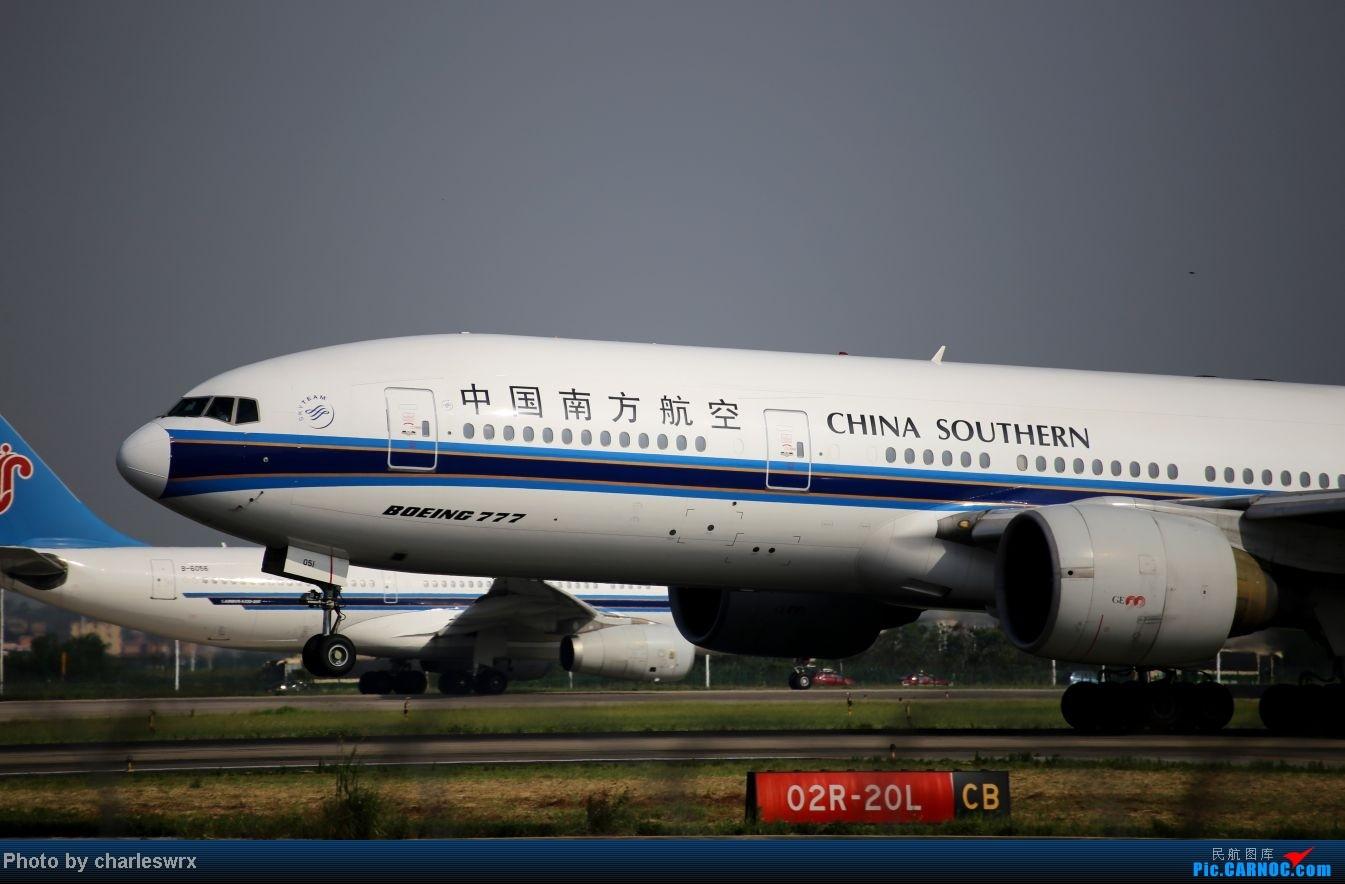 Re:[原创]【迟到的照片】迎接南航787以及隔一天的煤堆土堆烂天小拍 BOEING 777-200 B-2051 中国广州白云机场