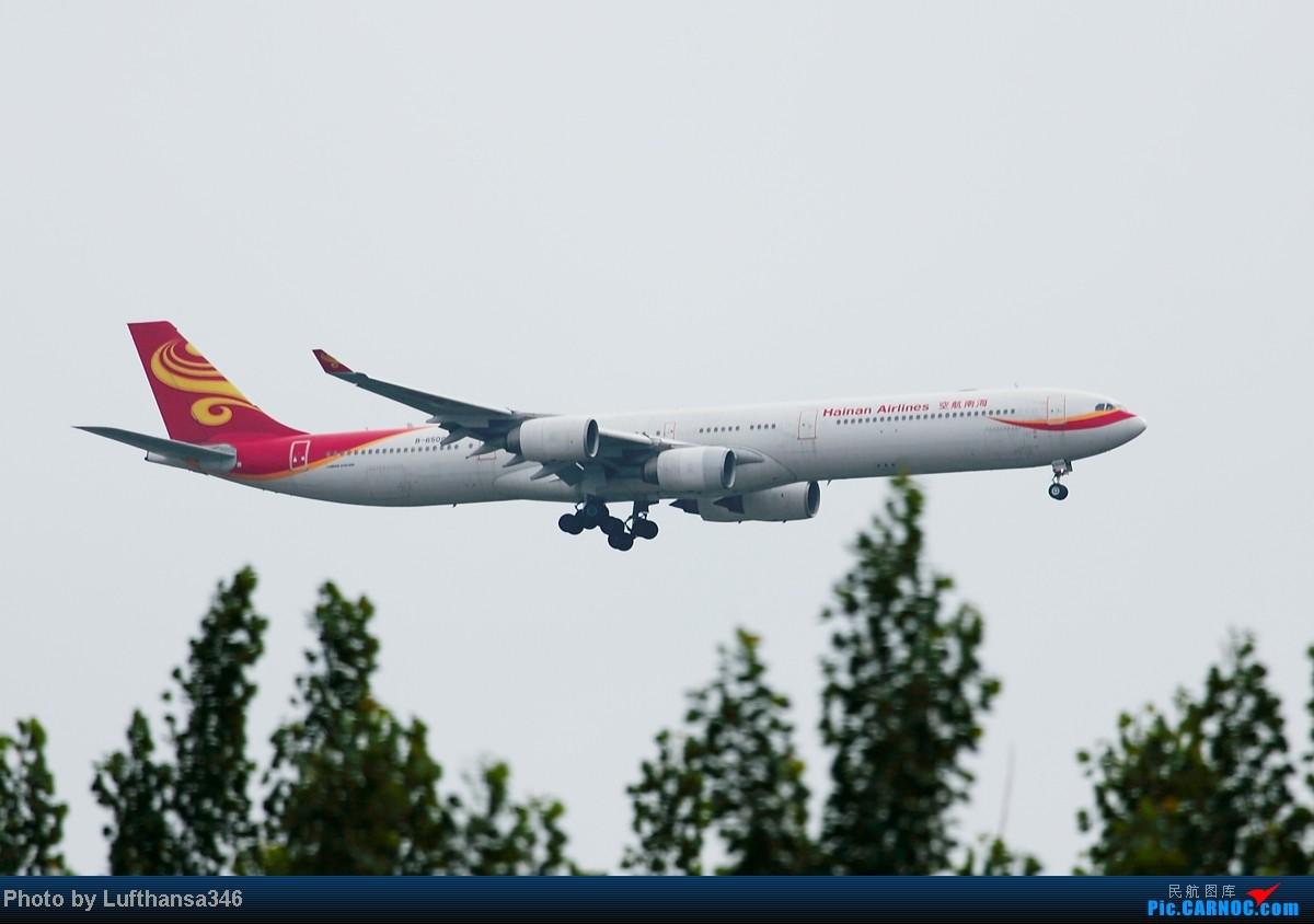 Re:[原创]屌丝的端午就以打飞机度过,有幸看到了JL787,CZ380复飞,以及闪灯若干 AIRBUS A340-600 B-6509 中国北京首都机场