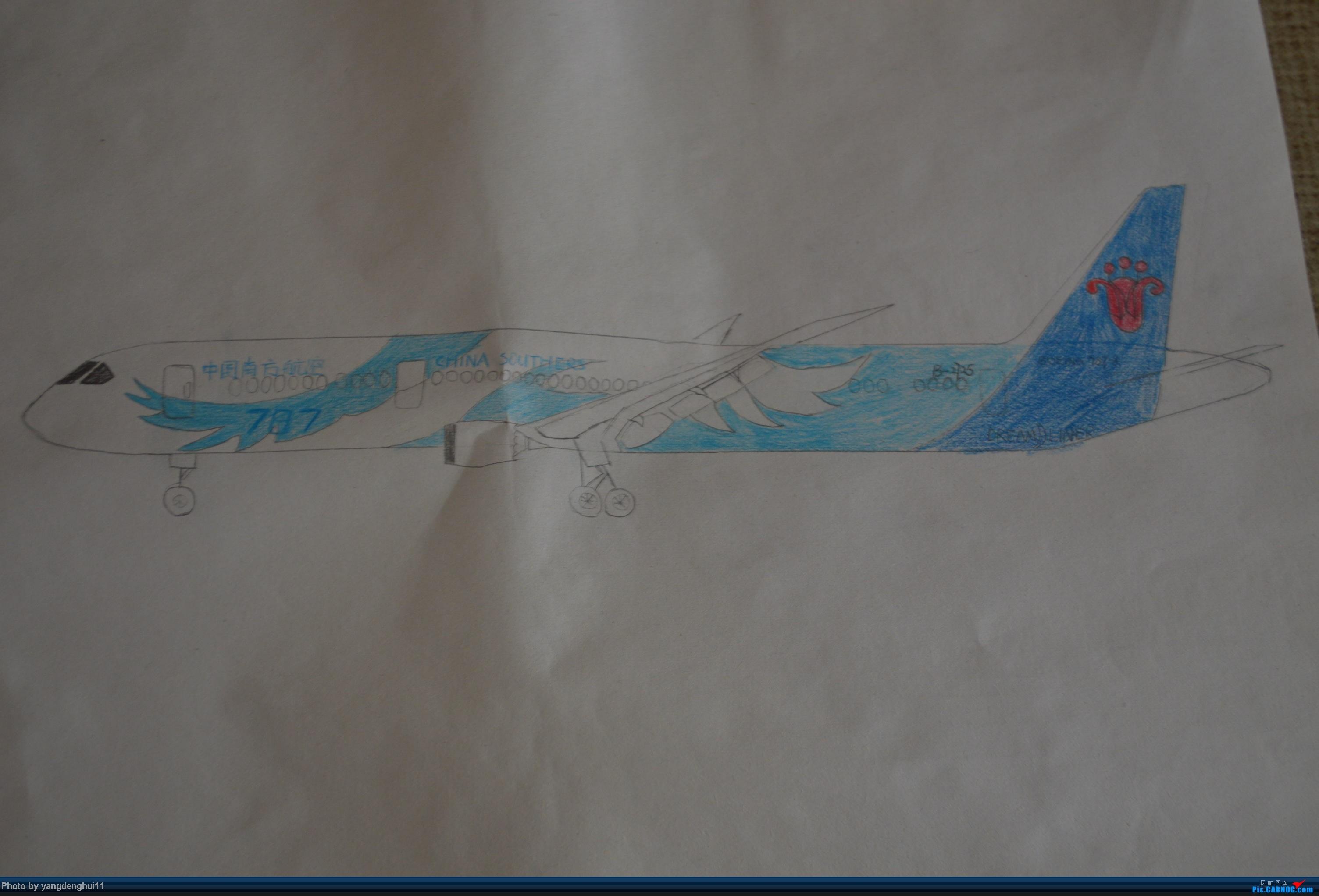 [原创]随手画的  南航787-8 B2725 BOEING 787 B-2725