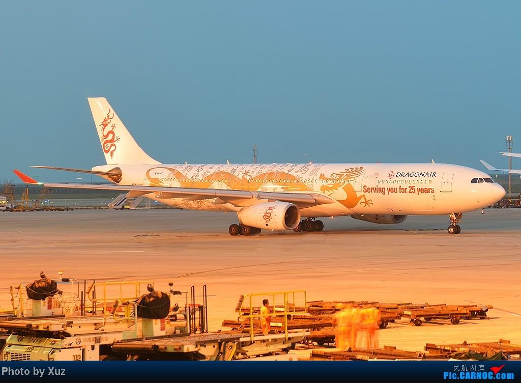 黄昏的金龙 AIRBUS A330-300 B-HYF 中国上海浦东机场