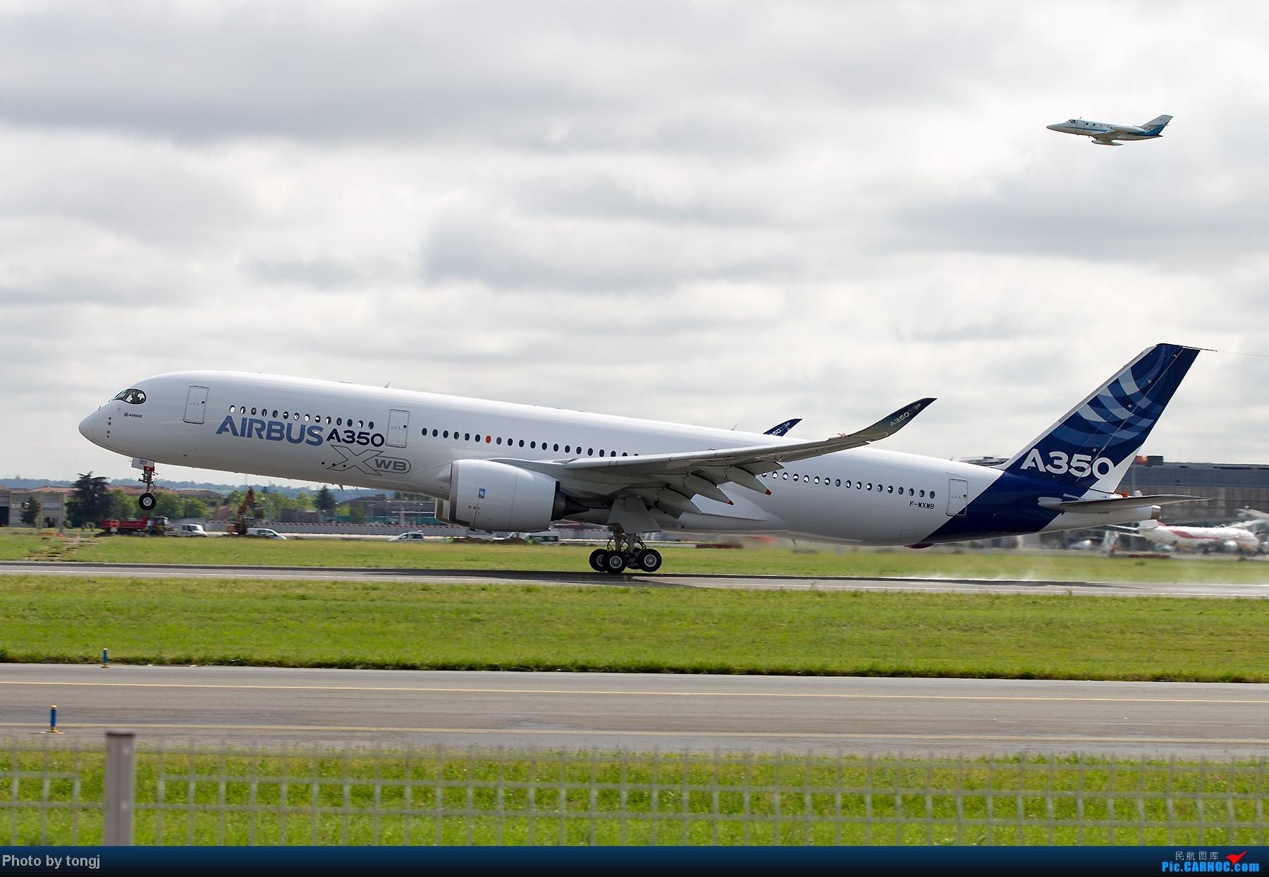 [原创]【高清图】空客A350XWB首飞 图片由空客提供 A350XWB