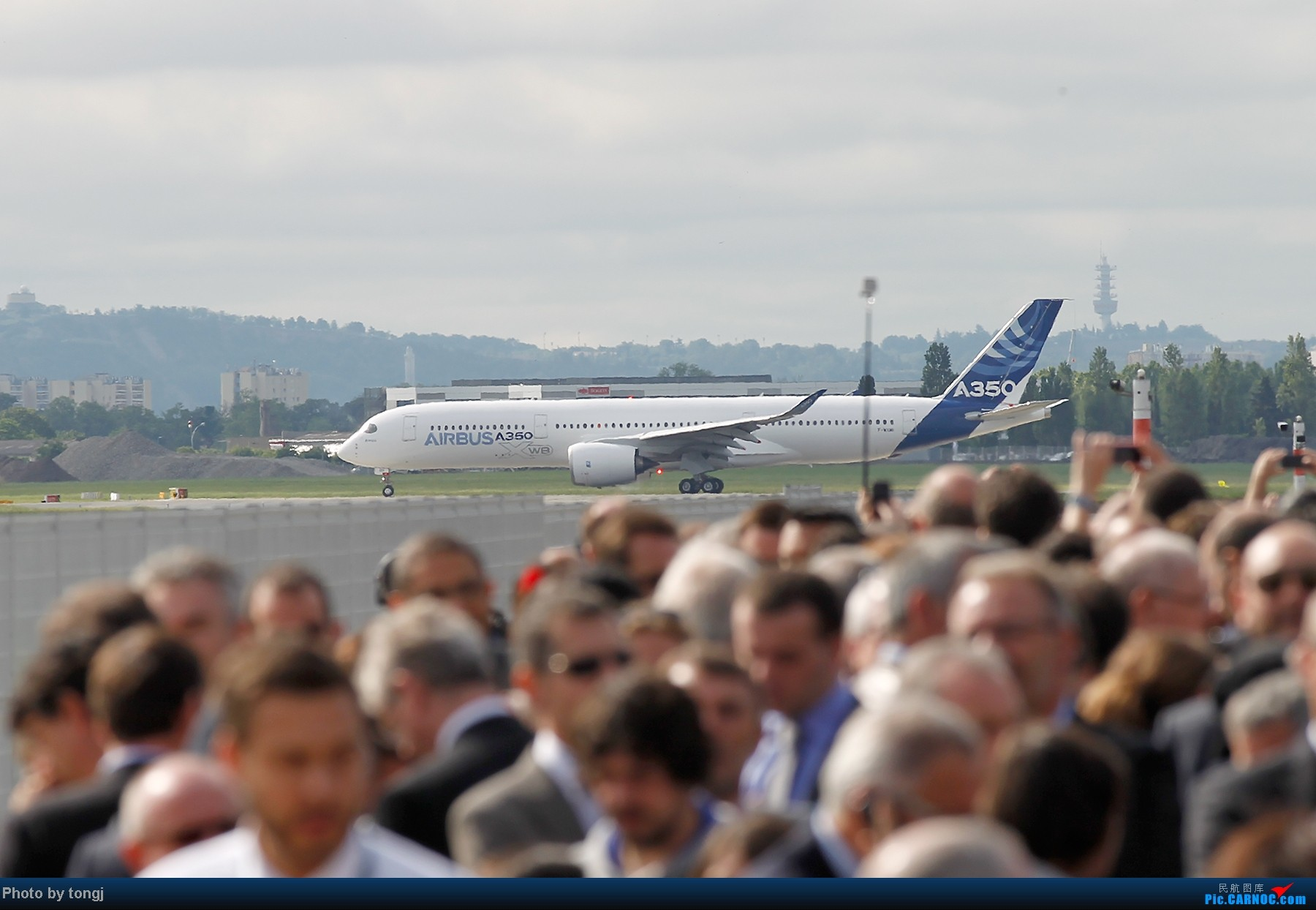 Re:[原创]【高清图】空客A350XWB首飞 A350XWB