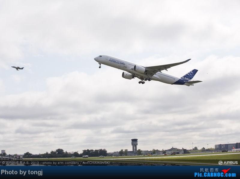 Re:[原创]【高清图】空客A350XWB首飞 图片由空客提供 A350XWB