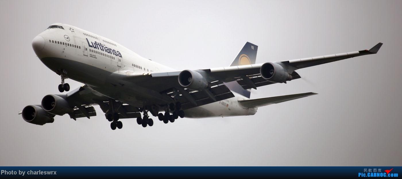 Re:[原创]【【上海浦东国际机场17R】】烂天转好天,多图一次性看个够(国产,欧美,日本,东南亚。。。) BOEING 747-400  中国上海浦东机场