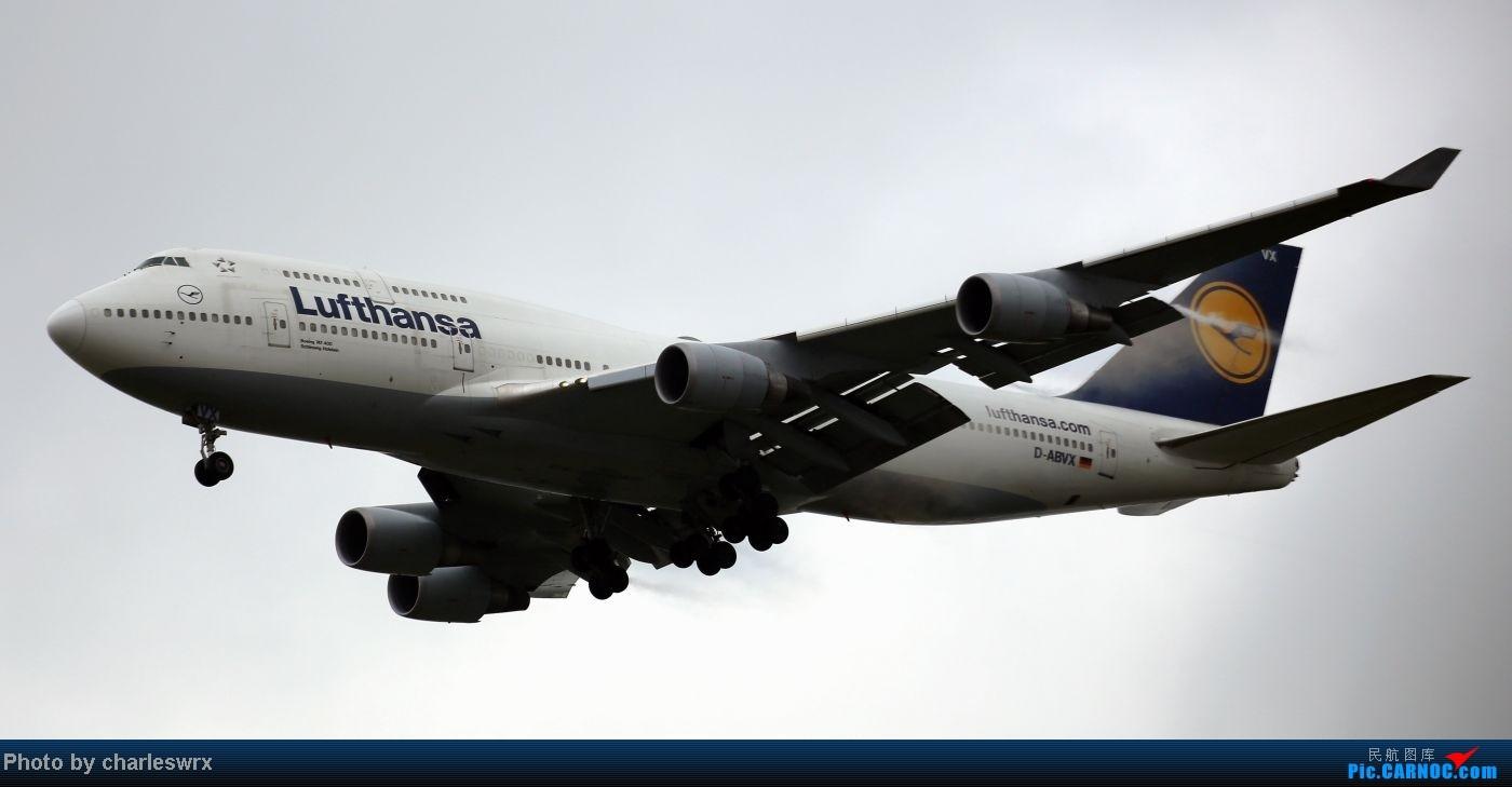 Re:[原创]【【上海浦东国际机场17R】】烂天转好天,多图一次性看个够(国产,欧美,日本,东南亚。。。) BOEING 747-400 D-ABVX 中国上海浦东机场