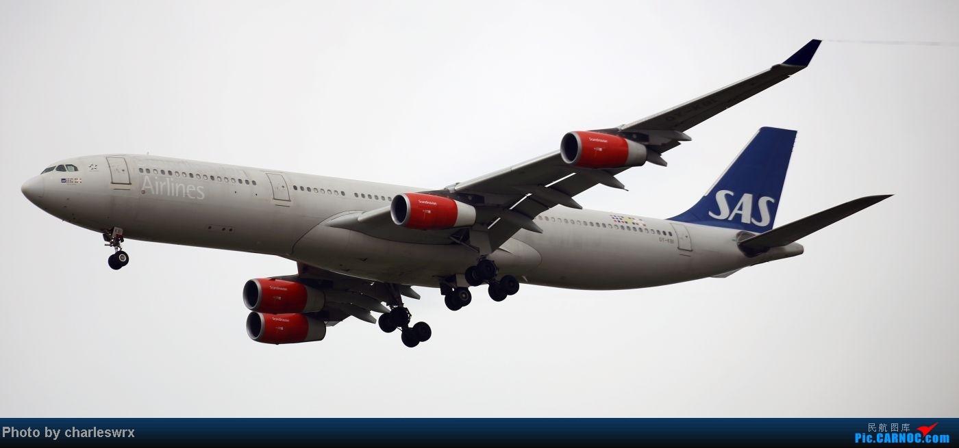 Re:[原创]【【上海浦东国际机场17R】】烂天转好天,多图一次性看个够(国产,欧美,日本,东南亚。。。) AIRBUS A340-300 OY-KBI 中国上海浦东机场