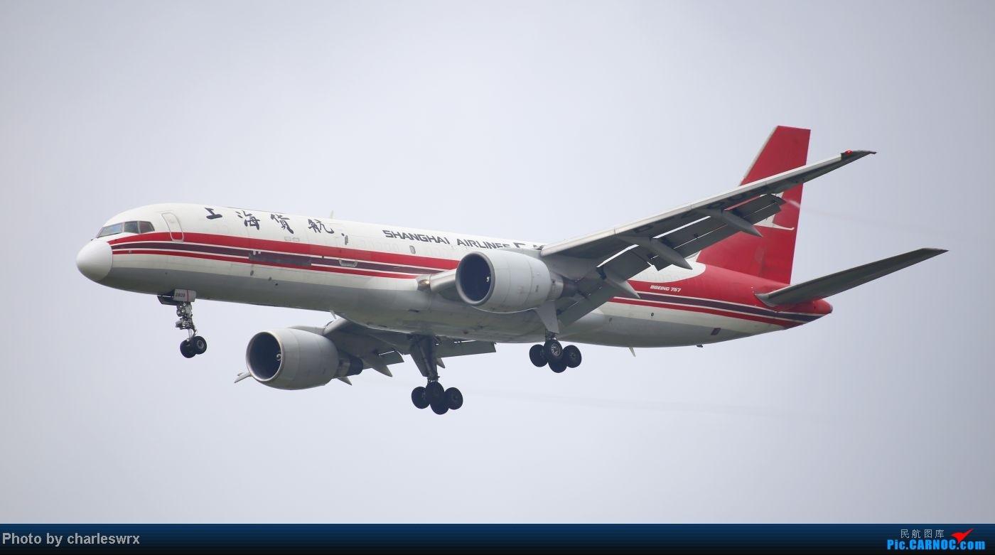 Re:[原创]【【上海浦东国际机场17R】】烂天转好天,多图一次性看个够(国产,欧美,日本,东南亚。。。) BOEING 757-200 B-2809 中国上海浦东机场