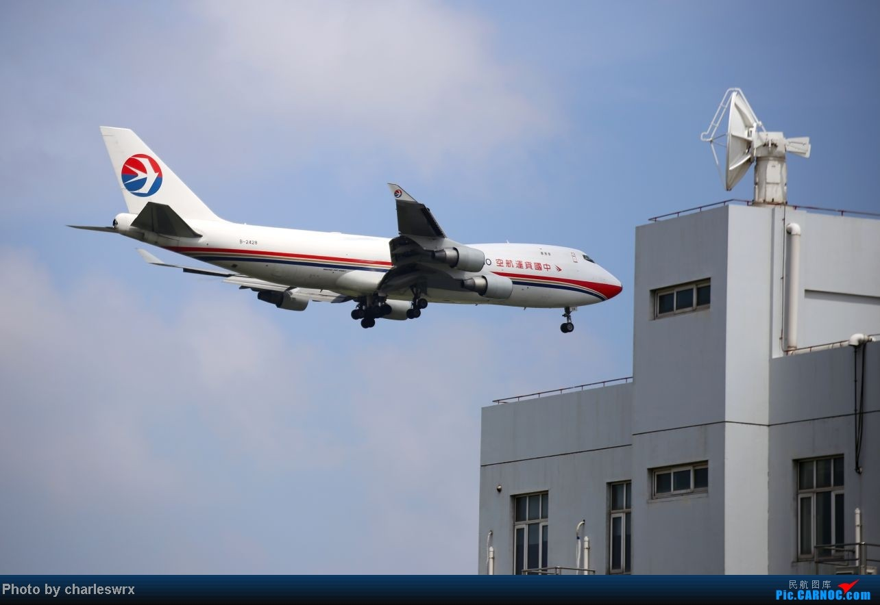 Re:[原创]【【上海浦东国际机场17R】】烂天转好天,多图一次性看个够(国产,欧美,日本,东南亚。。。) BOEING 747-400 B-2428 中国上海浦东机场
