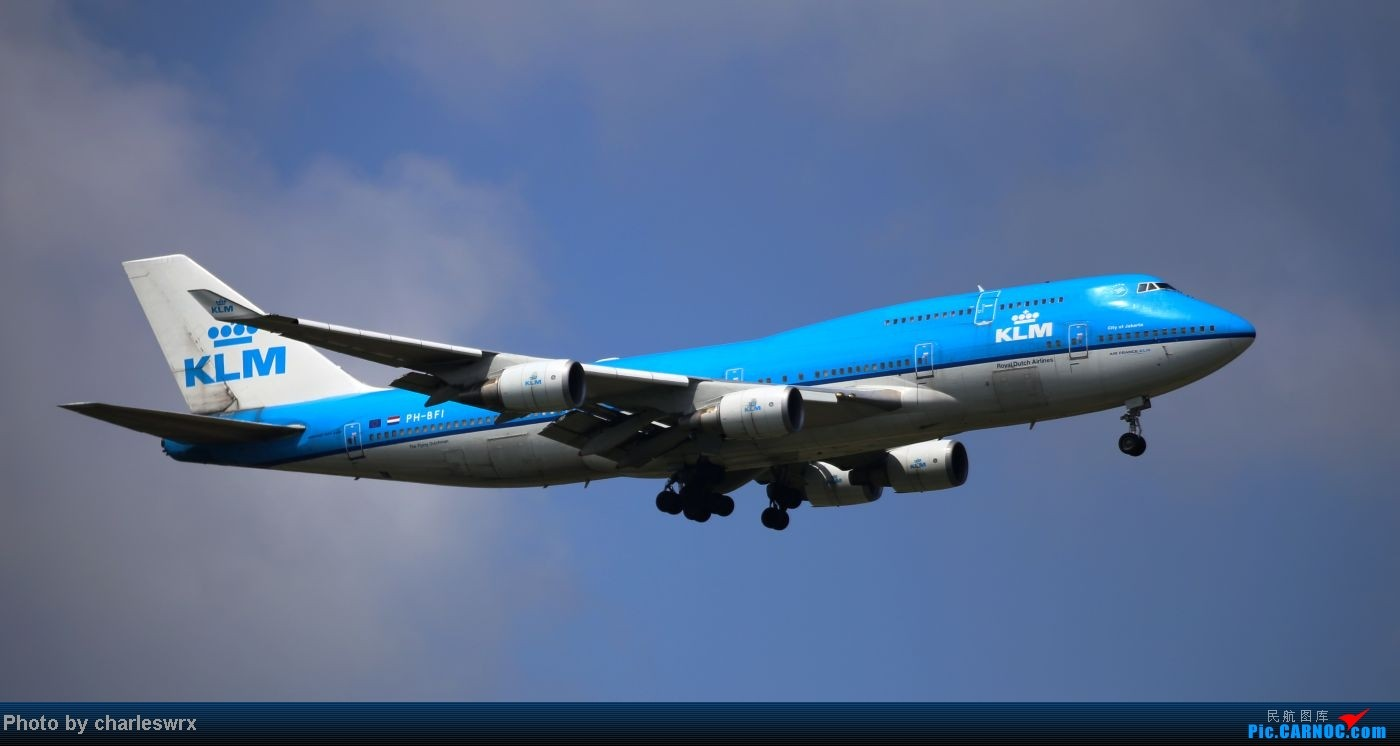 Re:[原创]【【上海浦东国际机场17R】】烂天转好天,多图一次性看个够(国产,欧美,日本,东南亚。。。) BOEING 747-400 PH-BFI 中国上海浦东机场