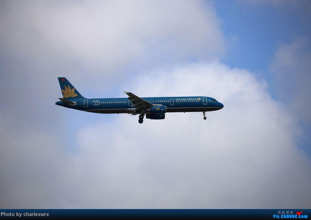 Re:[原创]【【上海浦东国际机场17R】】烂天转好天,多图一次性看个够(国产,欧美,日本,东南亚。。。) AIRBUS A321-200 VN-A357 中国上海浦东机场