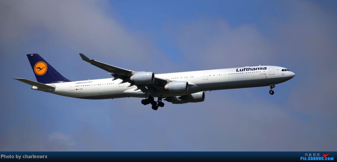Re:[原创]【【上海浦东国际机场17R】】烂天转好天,多图一次性看个够(国产,欧美,日本,东南亚。。。) AIRBUS A340-600 D-AIHZ 中国上海浦东机场