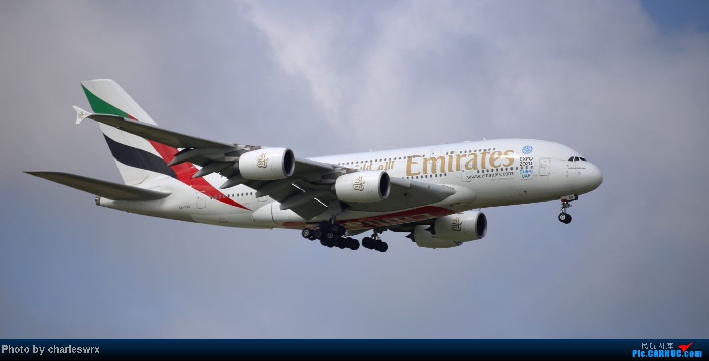 Re:[原创]【【上海浦东国际机场17R】】烂天转好天,多图一次性看个够(国产,欧美,日本,东南亚。。。) AIRBUS A380 A6-EDG 中国上海浦东机场
