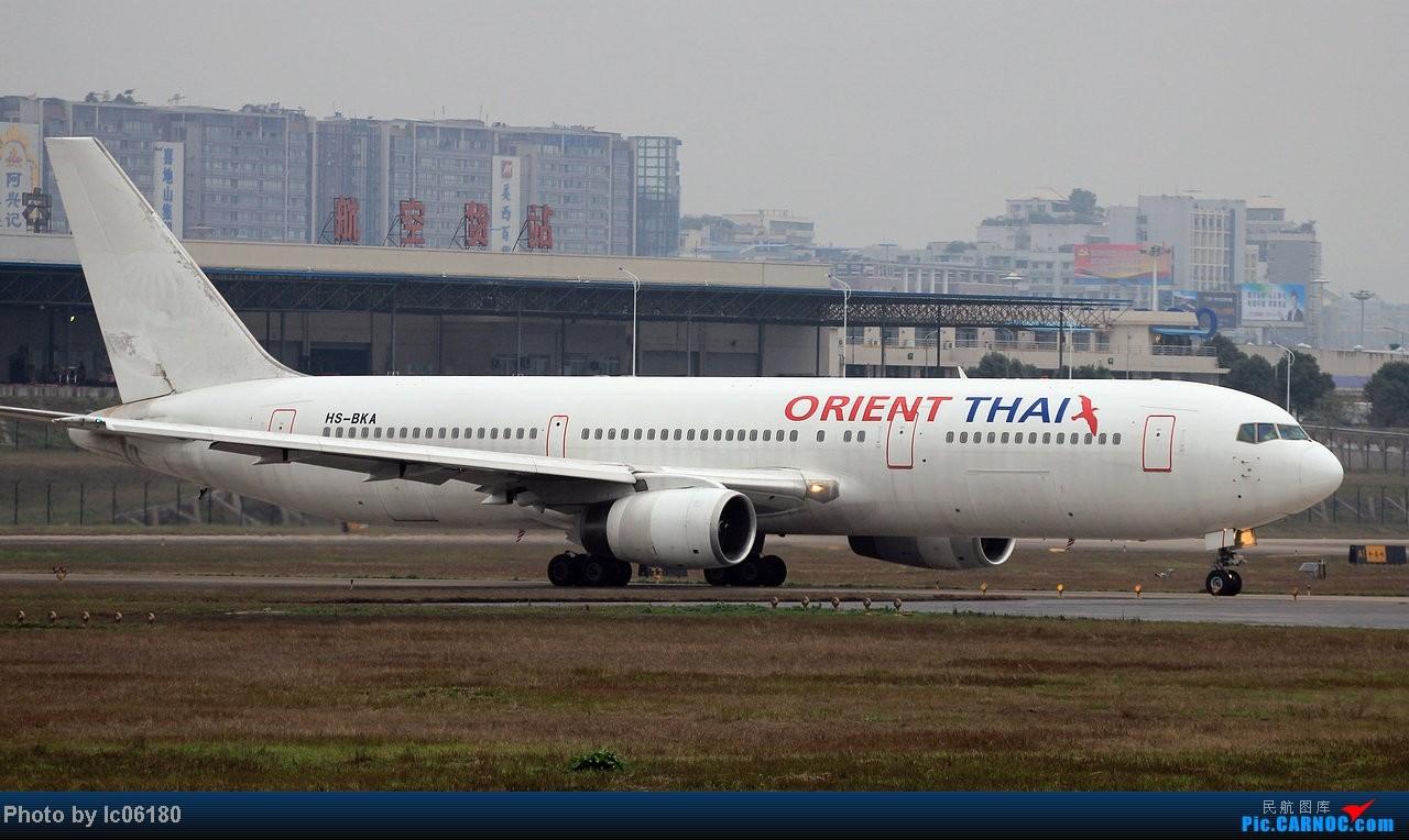 Re:[原创]『lc06180』CKG - 那半年, 在重庆 BOEING 767-300 HS-BKA 中国重庆江北机场