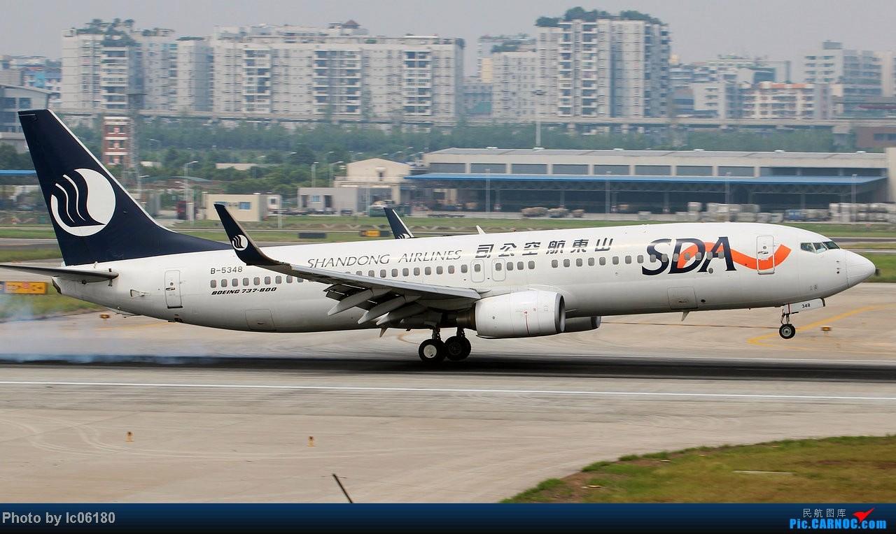 Re:[原创]『lc06180』CKG - 那半年, 在重庆 BOEING 737-800 B-5348 中国重庆江北机场