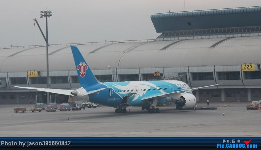 Re:[原创]上学时间的特殊旅行暨帝都首次莅临 BOEING 787 B-2725 中国北京首都机场