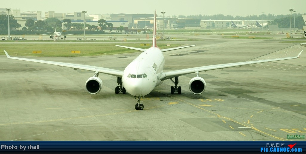 Re:[原创][20130628 SIN]新加坡樟宜机场随拍 AIRBUS A330-300 VH-QPC 新加坡樟宜机场