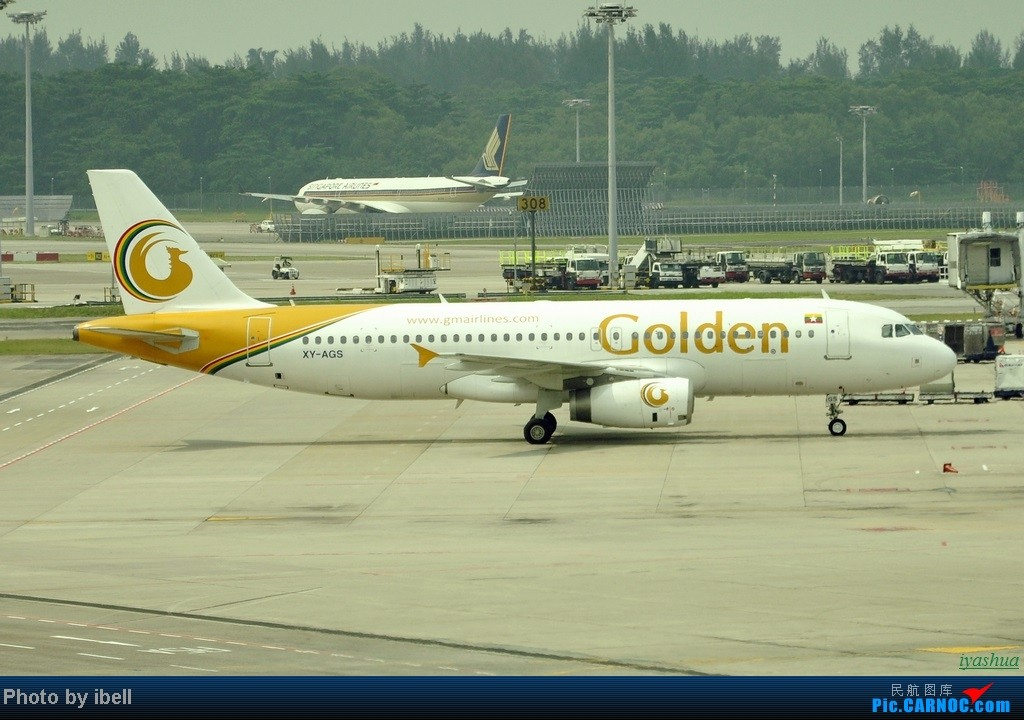 Re:[原创][20130628 SIN]新加坡樟宜机场随拍 AIRBUS A320-200 XY-AGS 新加坡樟宜机场