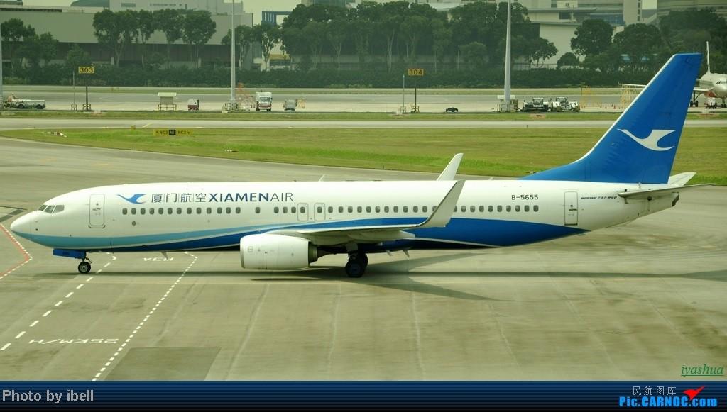 Re:[原创][20130628 SIN]新加坡樟宜机场随拍 BOEING 737-800 B-5655 新加坡樟宜机场