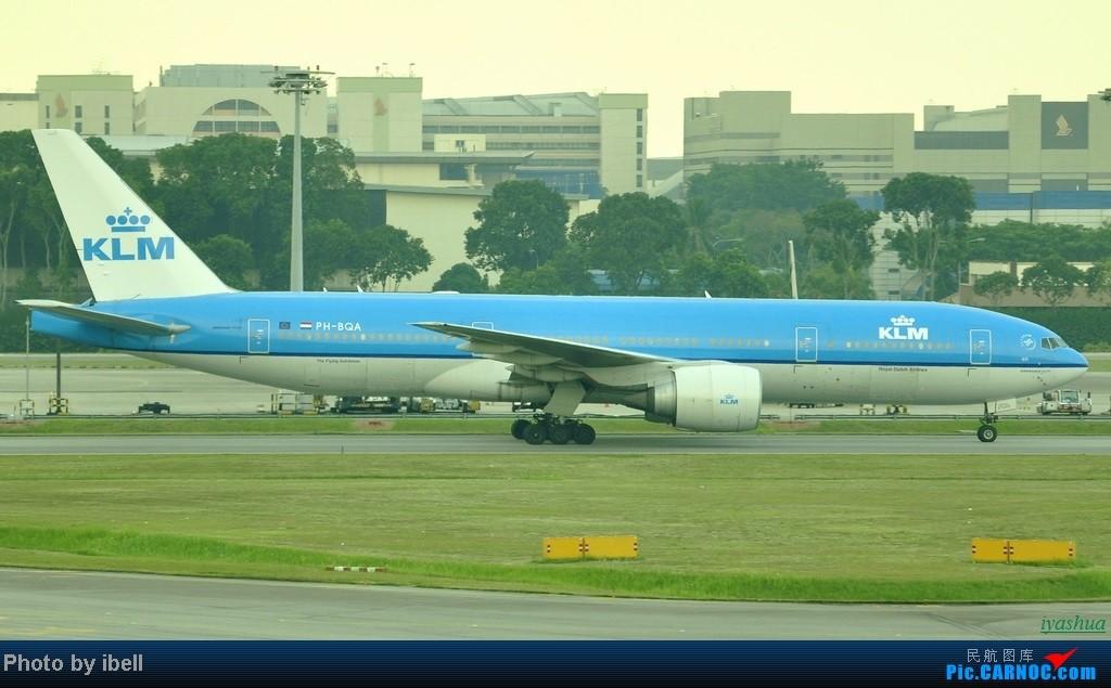 Re:[原创][20130628 SIN]新加坡樟宜机场随拍 BOEING 777-200 PH-BQA 新加坡樟宜机场