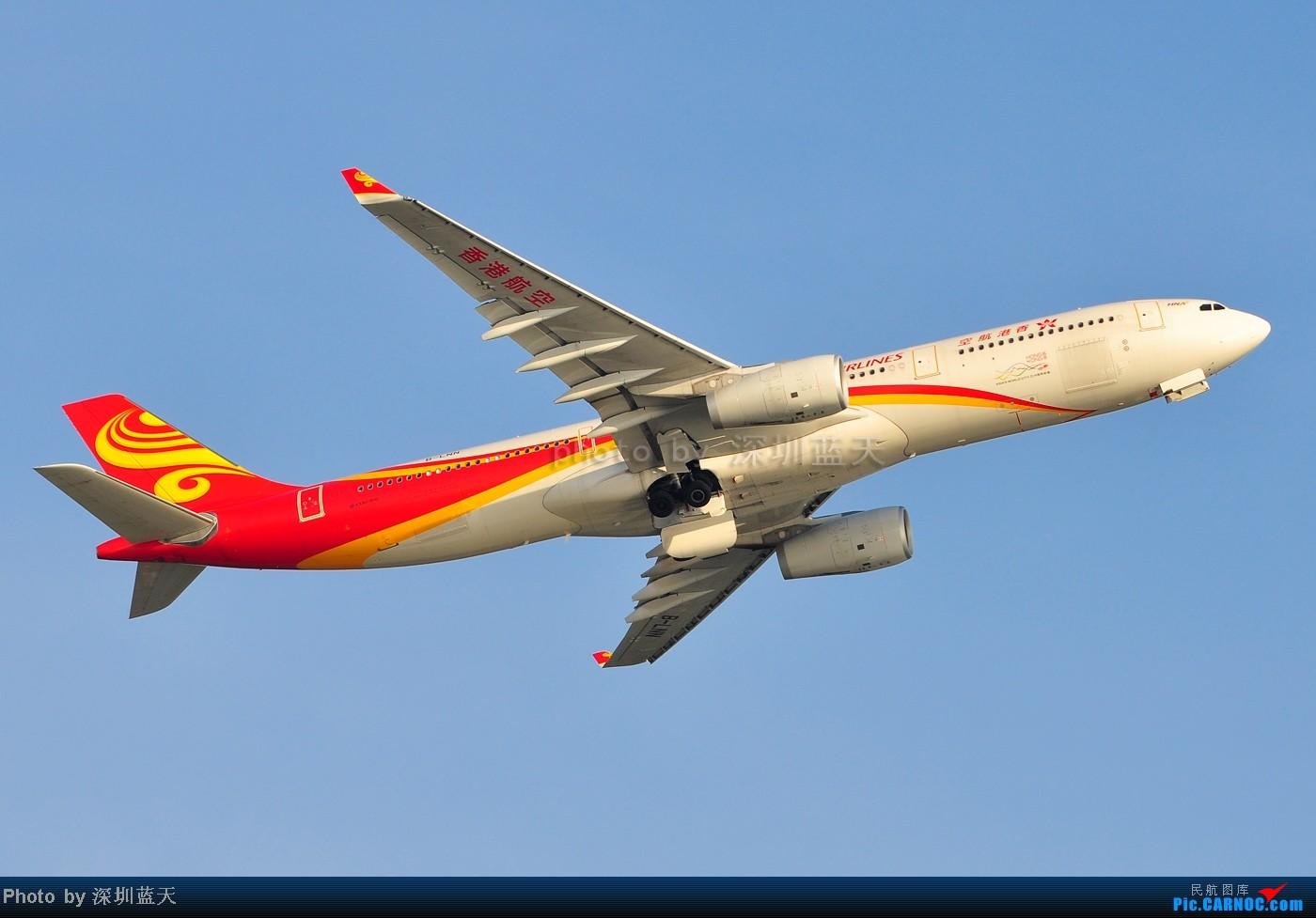 Re:[原创]【深圳飞友会】香港飞机维修区海堤起飞新拍—泰航A380斐济A330新装等 AIRBUS A330-343X B-LNN 中国香港赤鱲角国际机场