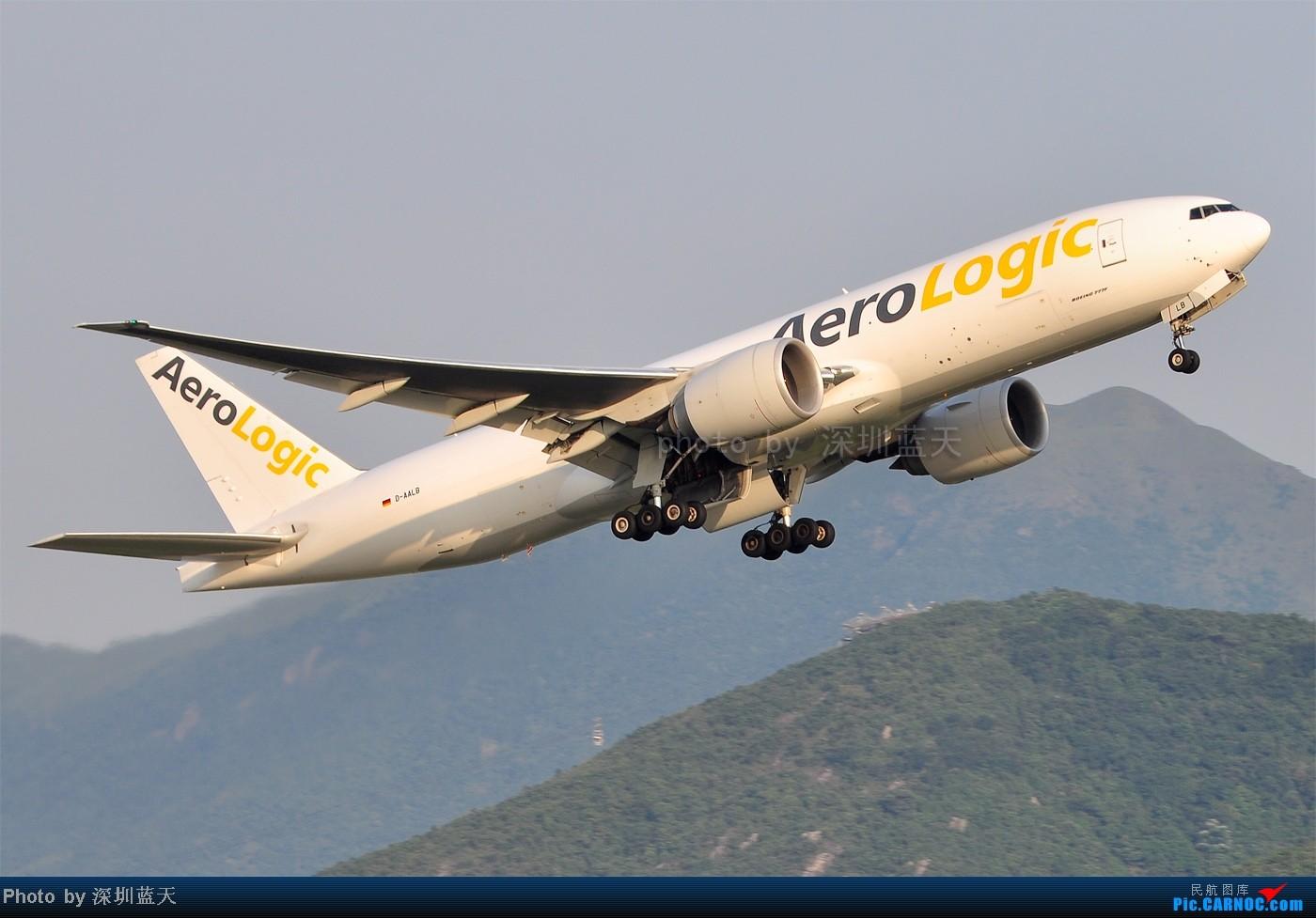 Re:[原创]【深圳飞友会】香港飞机维修区海堤起飞新拍—泰航A380斐济A330新装等 BOEING 777-FZN D-AALB 中国香港赤鱲角国际机场