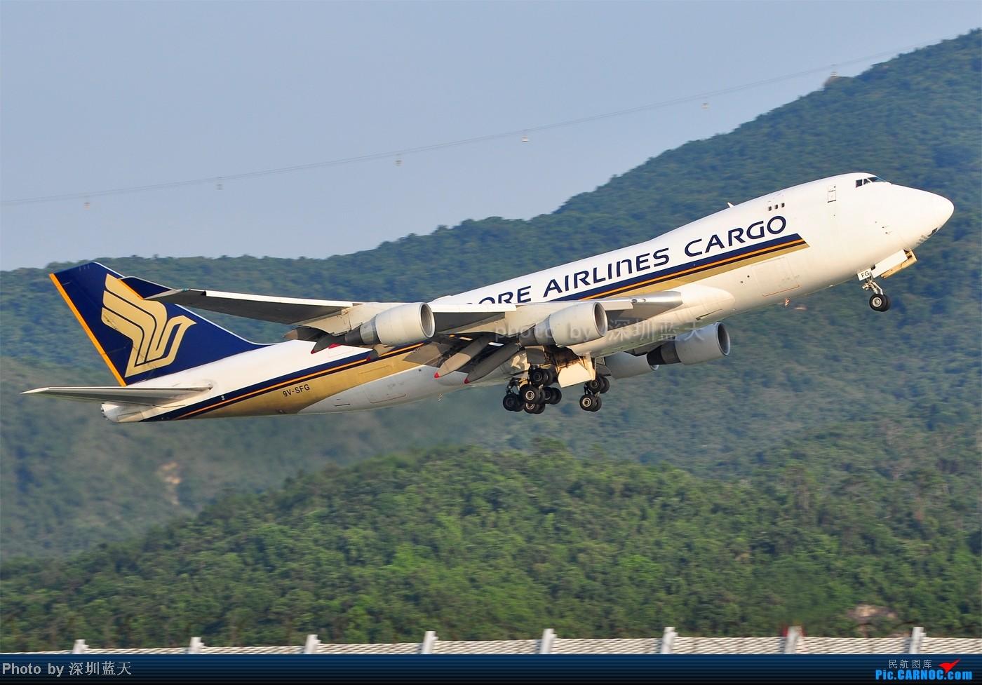 Re:[原创]【深圳飞友会】香港飞机维修区海堤起飞新拍—泰航A380斐济A330新装等 BOEING 747-412F/SCD 9V-SFG 中国香港赤鱲角国际机场
