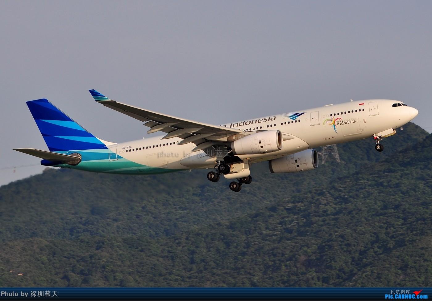 Re:[原创]【深圳飞友会】香港飞机维修区海堤起飞新拍—泰航A380斐济A330新装等 AIRBUS A330-243 PK-GPL 中国香港赤鱲角国际机场