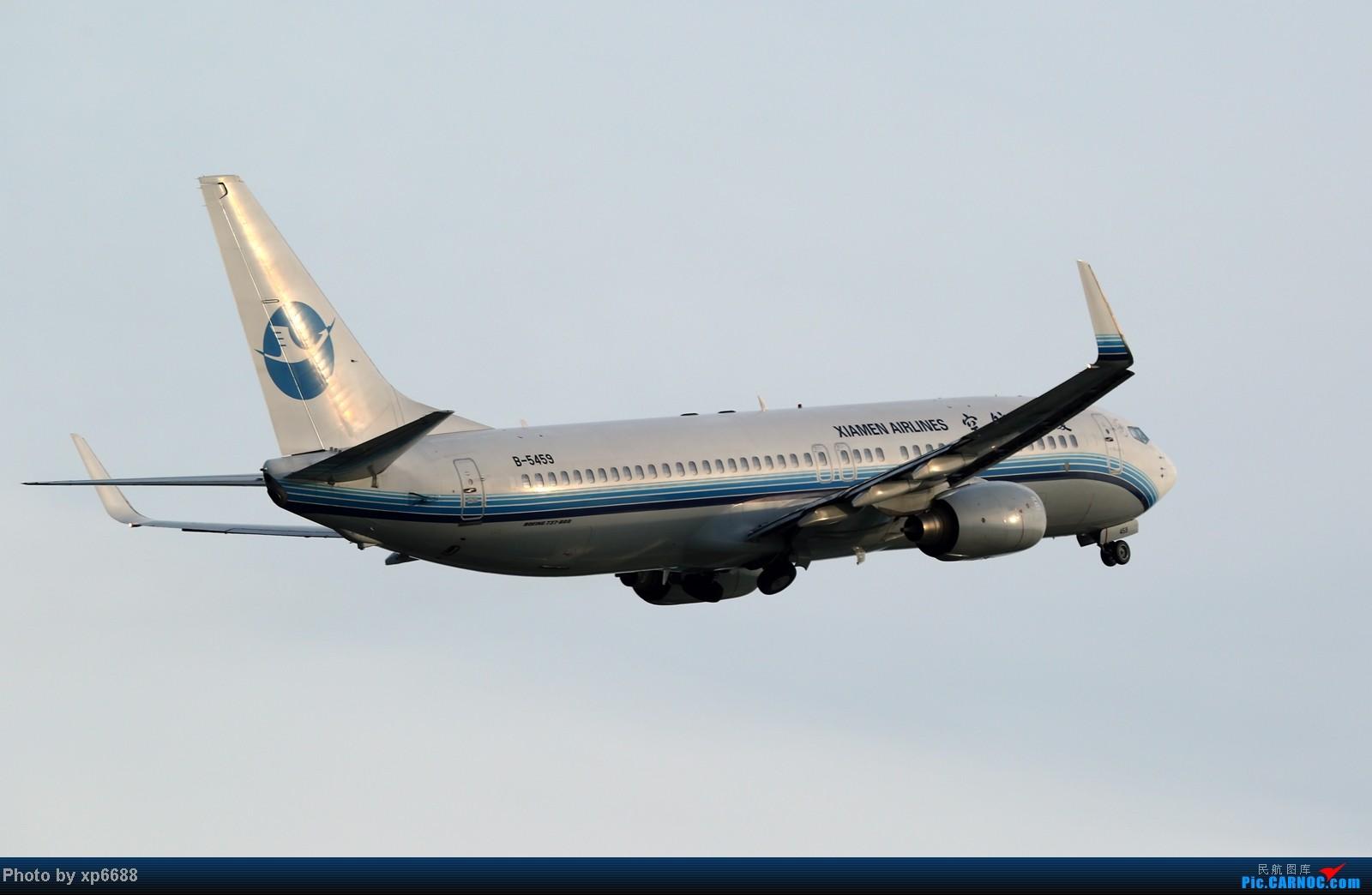 Re:[原创]萧山机场之冷暖 BOEING 737-800 B-5459 中国杭州萧山机场