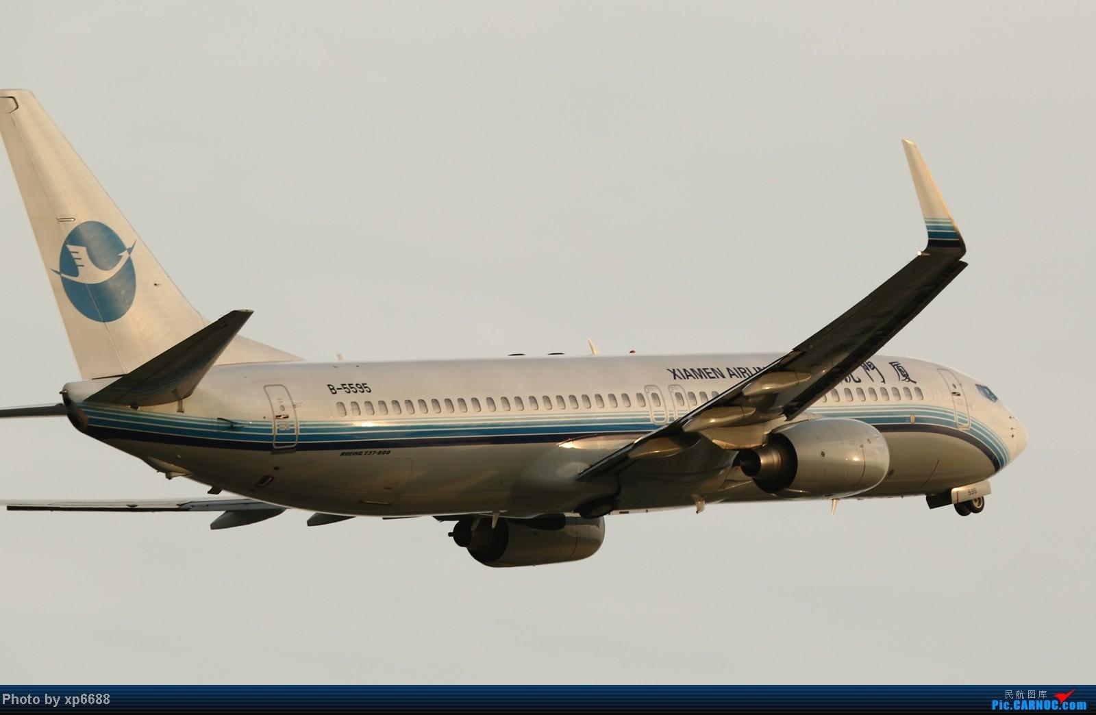 Re:[原创]萧山机场之冷暖 BOEING 737-800 B-5595 中国杭州萧山机场
