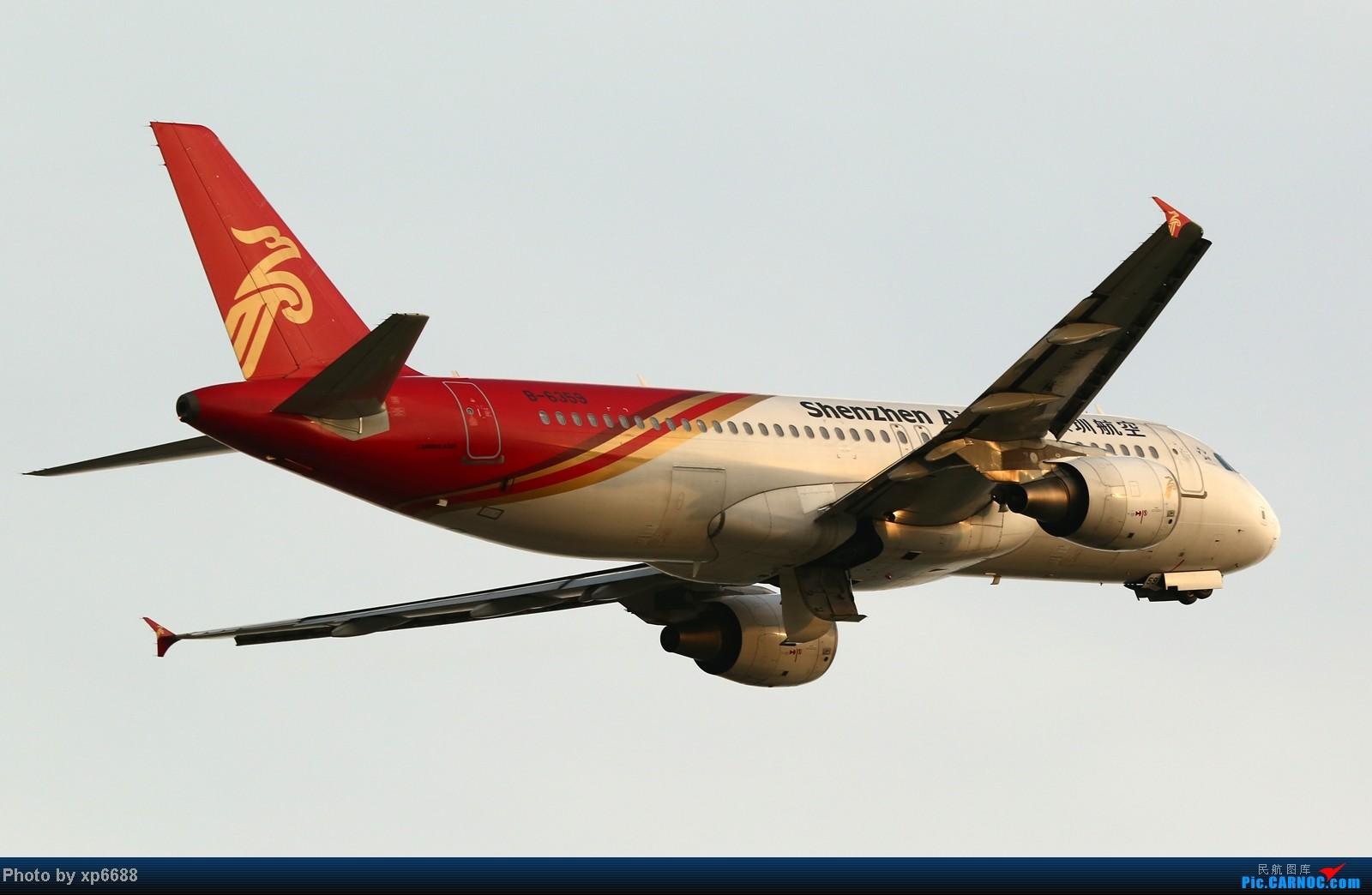 Re:[原创]萧山机场之冷暖 AIRBUS A320-200 B-6359 中国杭州萧山机场