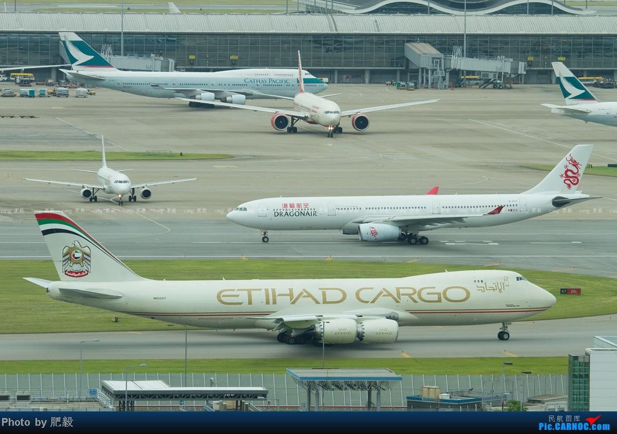 Re:[原创][CASG]Etihad Crystal Cargo B748F BOEING 747-800 N855GT 中国香港赤鱲角国际机场