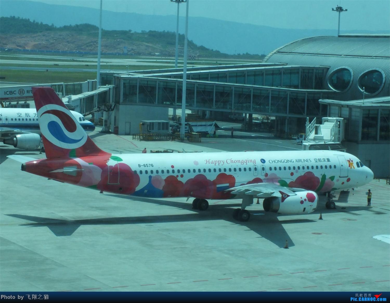 Re:[原创]CKG拍机之烈日篇(太阳当头照,坚持去拍机。汗水流进土,拍机真辛苦。) AIRBUS A320-200 B-6576 重庆江北国际机场