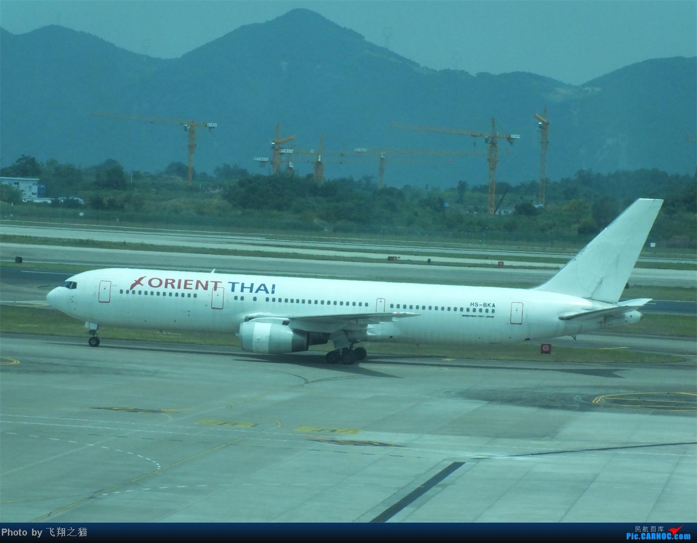 Re:[原创]CKG拍机之烈日篇(太阳当头照,坚持去拍机。汗水流进土,拍机真辛苦。) BOEING 767-300 HS-BKA 重庆江北国际机场