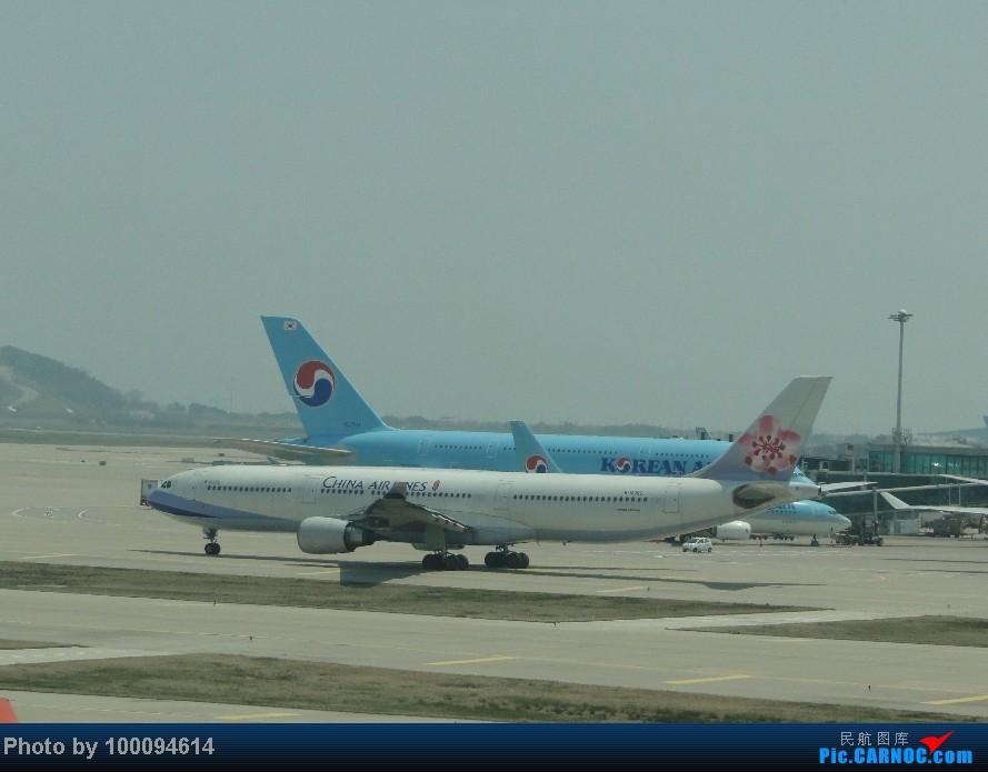 Re:Re:Re:[原创][伪文艺青年游记-60]拖稿已久,现来更新.近三个月来乏善可陈的冷饭游记杂烩贴(下) 关键词:五月泡菜国刷护照,帝都会基友,无内地出境章的通行证入境香港受阻.. A330-300 B-18355 韩国首尔仁川机场
