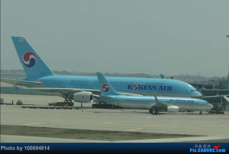 Re:[伪文艺青年游记-60]拖稿已久,现来更新.近三个月来乏善可陈的冷饭游记杂烩贴(下) 关键词:五月泡菜国刷护照,帝都会基友,无内地出境章的通行证入境香港受阻.. A380-800 HL7614 韩国首尔仁川机场