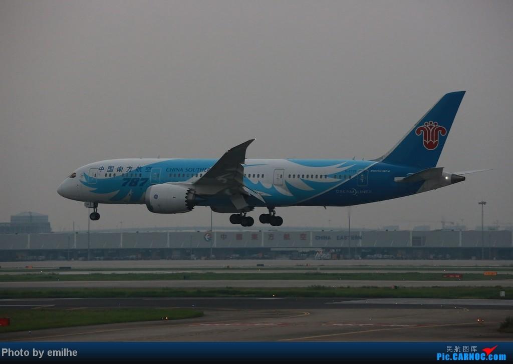 Re:虹桥傍晚拍机 BOEING 787 B-2725 SHA
