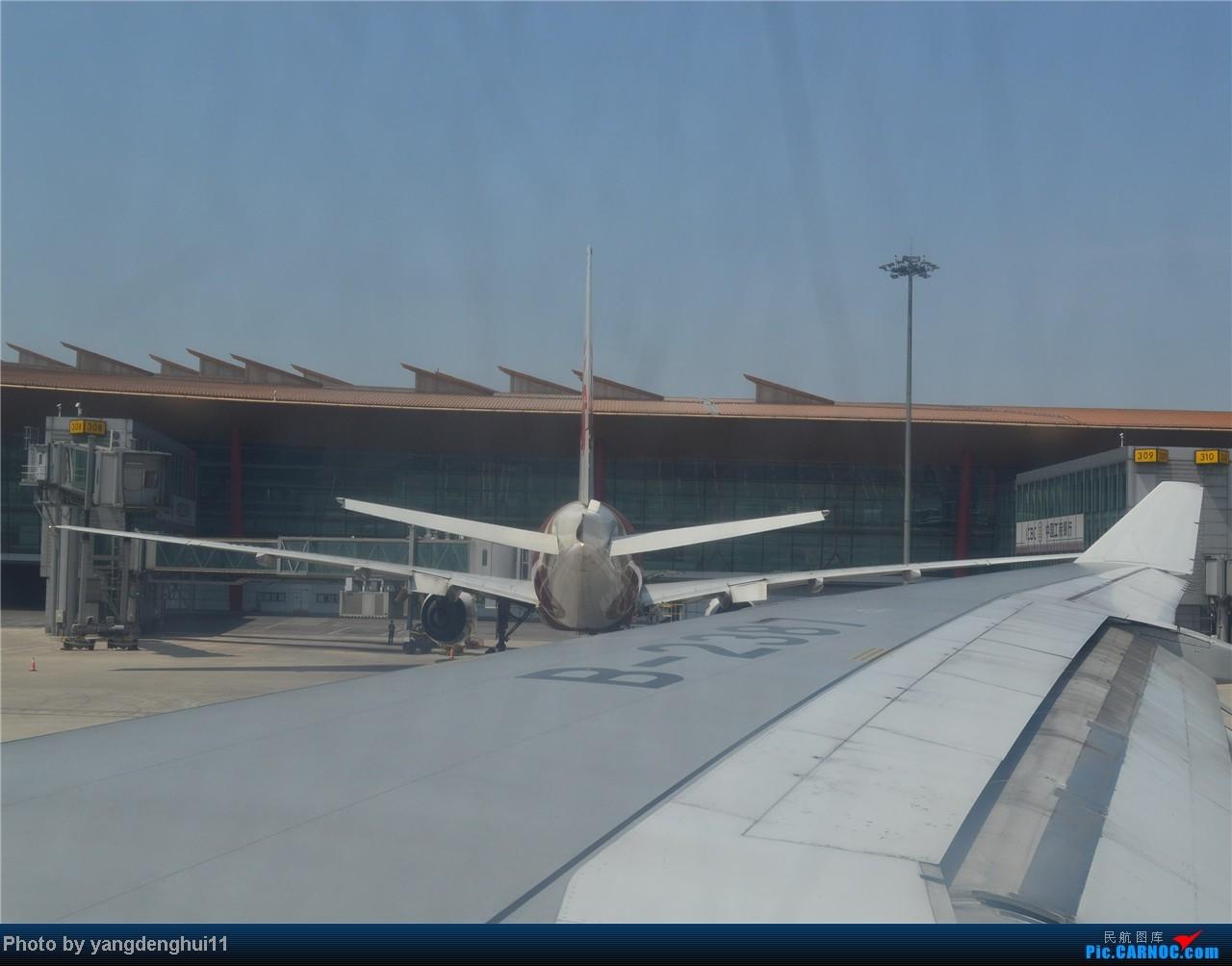 Re:[原创]暑假出游:CTU---PEK---CTU,北京巧遇国航红、蓝凤凰。(上) BOEING 777-200 B-2060 中国北京首都机场
