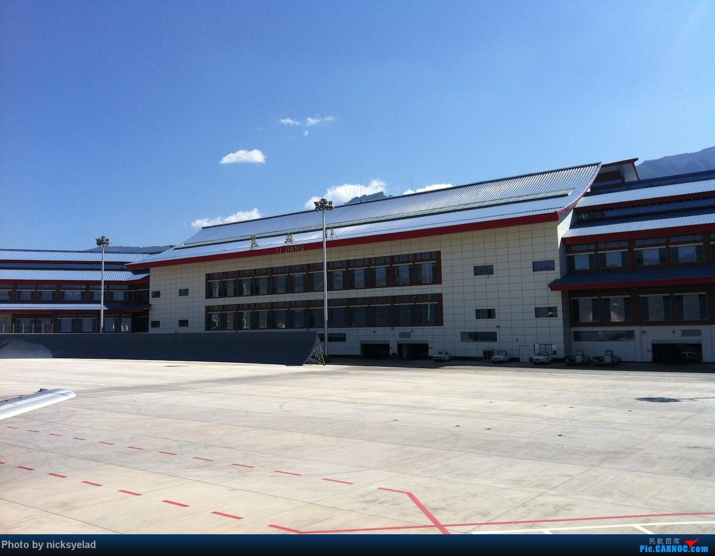 Re:[求]跪求各城市机场航站楼醒目标志LOGO照片,小弟在此谢过了。谢谢谢谢,赠送小飞机o    中国丽江三义机场