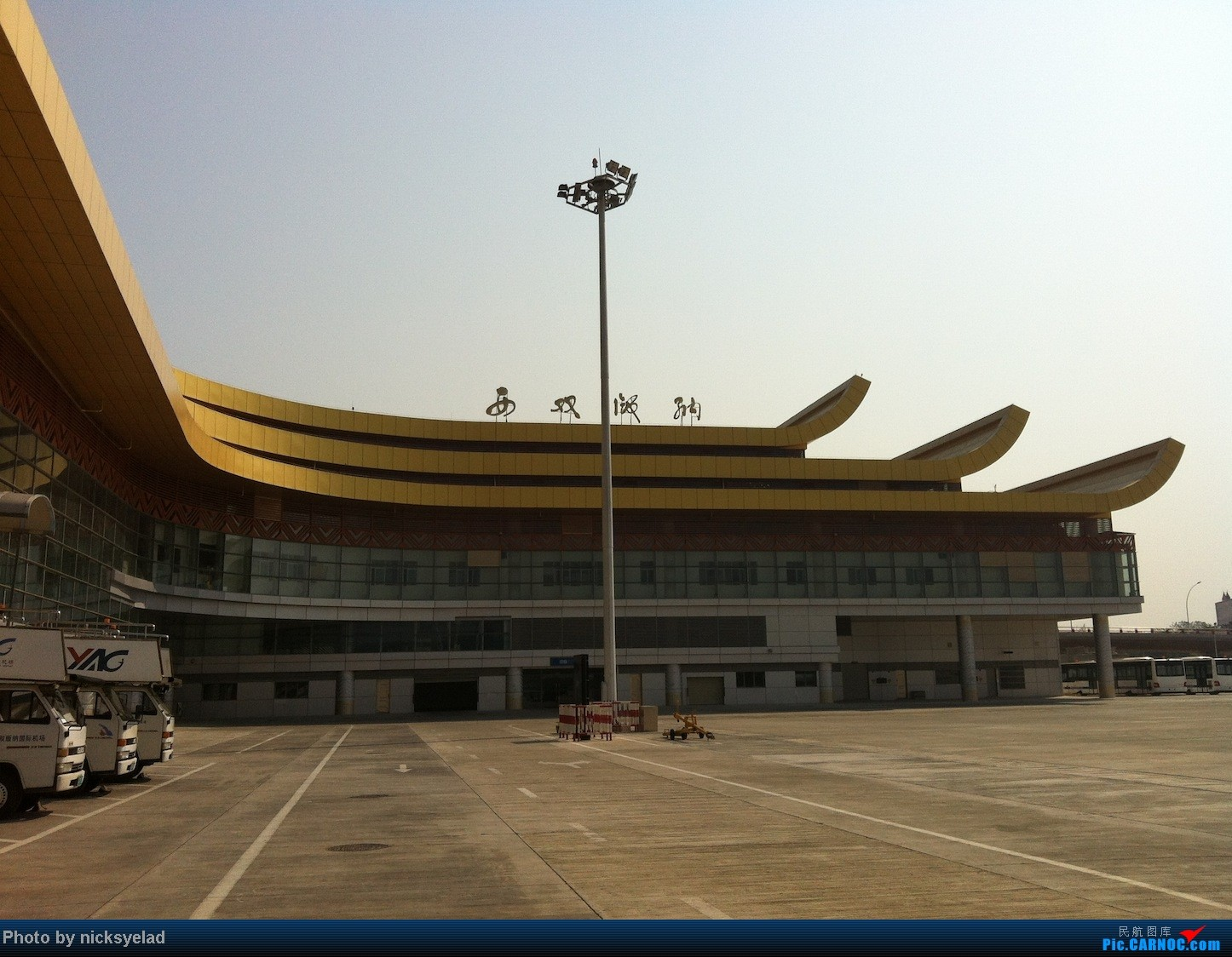 Re:[求]跪求各城市机场航站楼醒目标志LOGO照片,小弟在此谢过了。谢谢谢谢,赠送小飞机o    中国景洪(西双版纳)机场