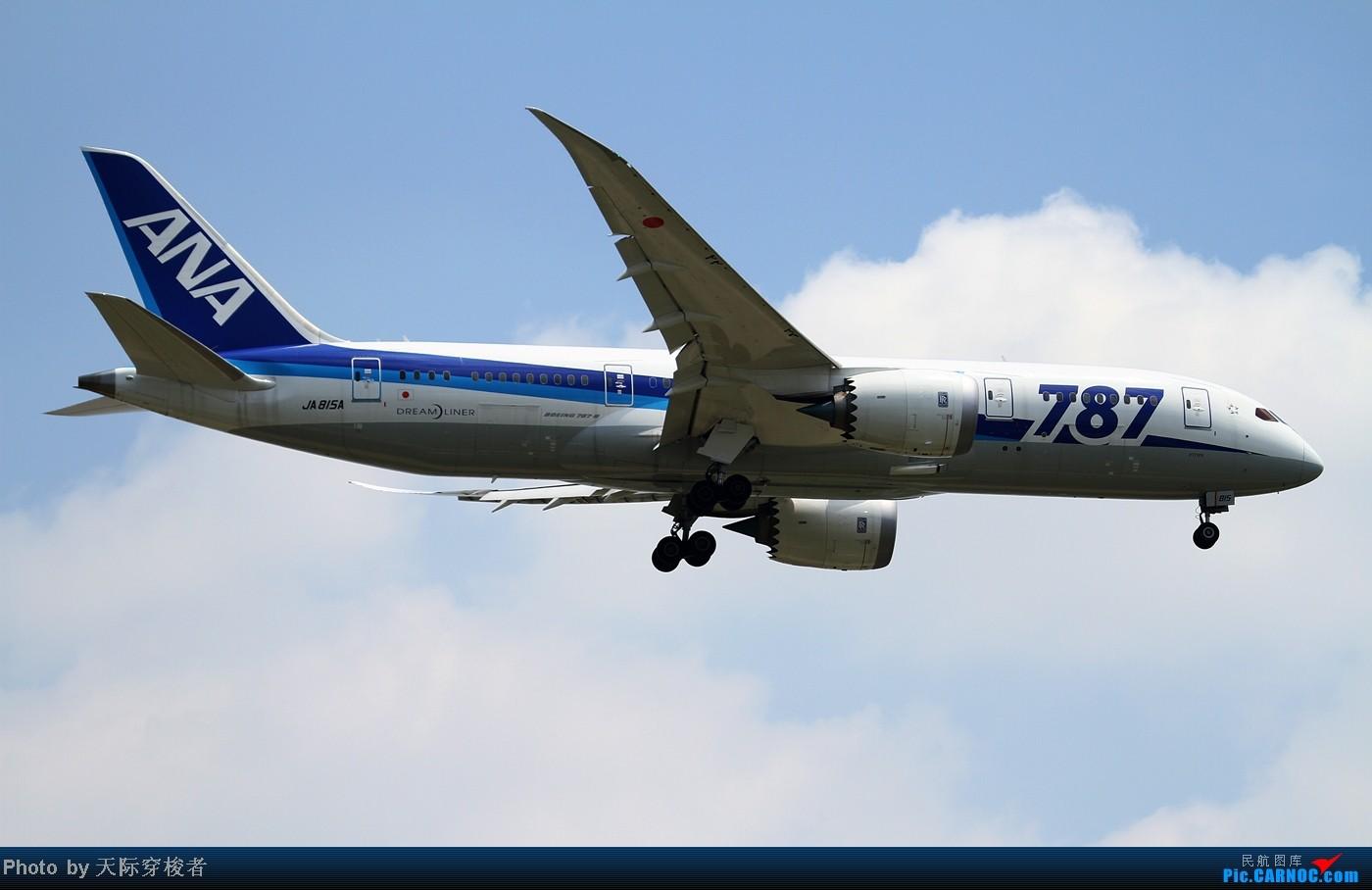 这样的天 这样的飞机 这样的心情 BOEING 787-8 JA815A 上海浦东国际机场