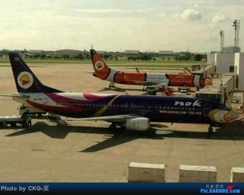 泰國飛鳥航空 合艾機場第一次見