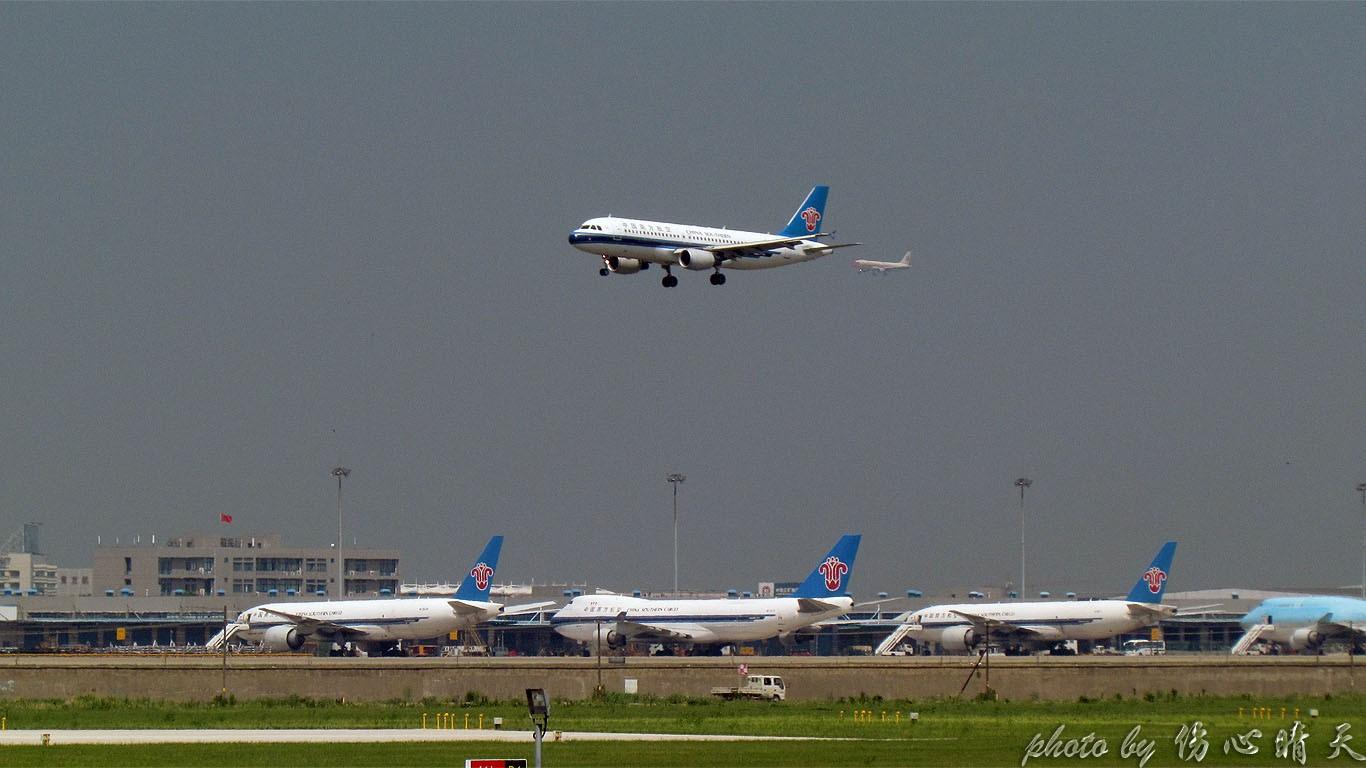 Re:[原创]PVG战40度高温,站在4跑外海堤上看2跑飞机的孩子伤不起,电线杆子很无奈却又可以带来不一样的东西。。。 BOEING 747-8 LX-VCH 中国上海浦东机场 中国上海浦东机场