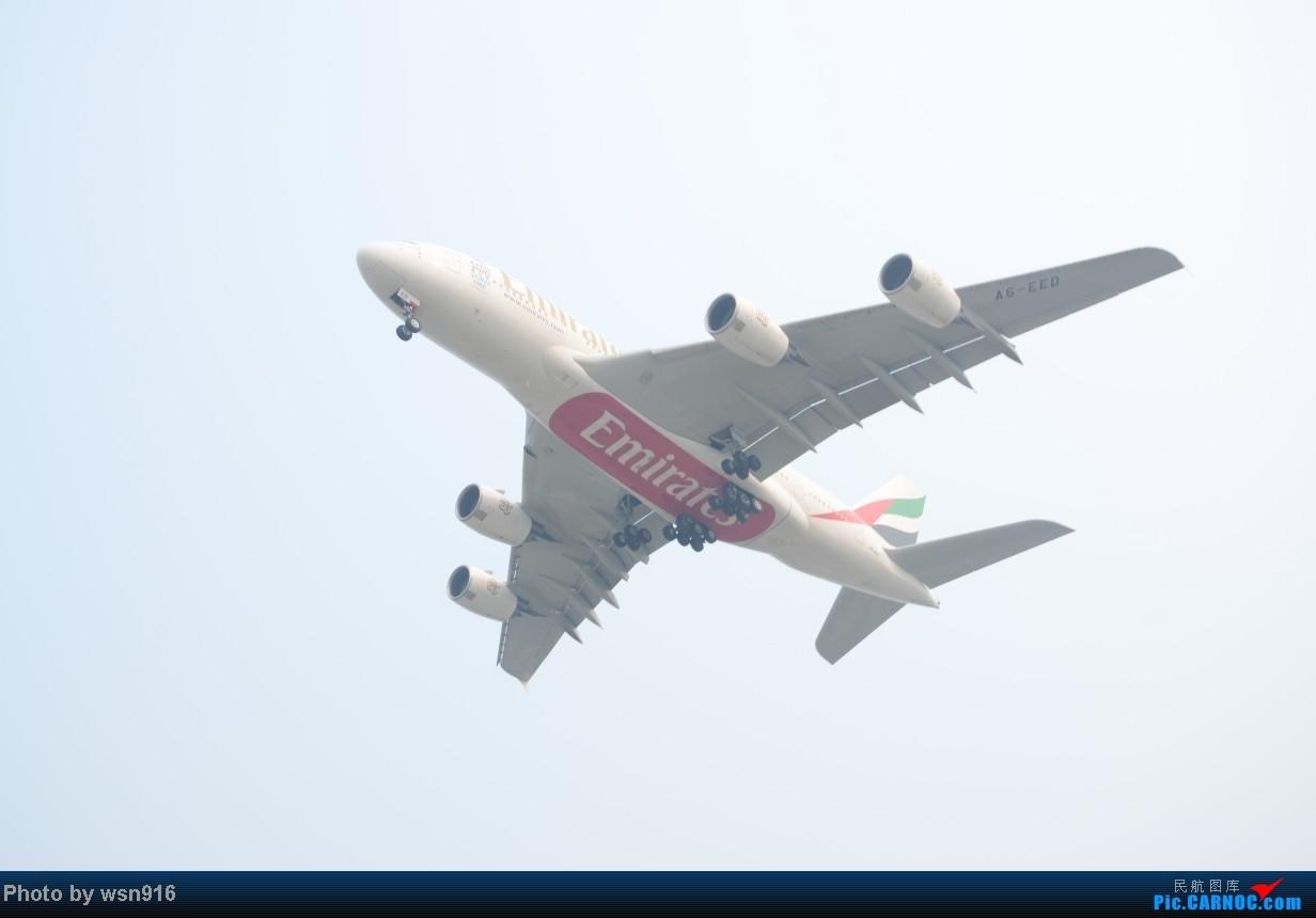 Re:[原创]8月10日PEK01跑道拍机 AIRBUS A380 A6-EED PEK 01