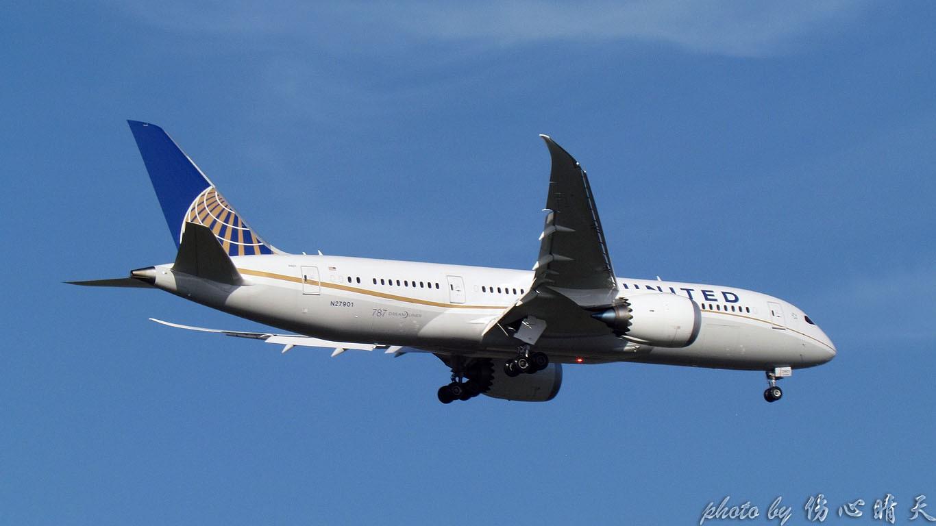 Re:[原创]顶着烈日的熏烤 拿下梦想之机 BOEING 787-8 N27901 中国上海浦东机场