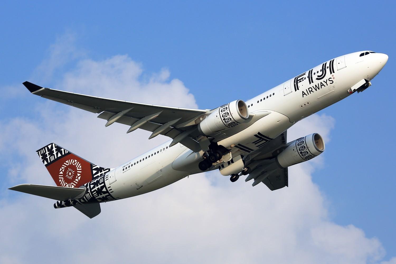 【HKG】**********流窜香港拍机行之飞机维修区:斐济航空 FIJI AIRWAYS********** AIRBUS A330-200 DQ-FJT 中国香港赤鱲角国际机场